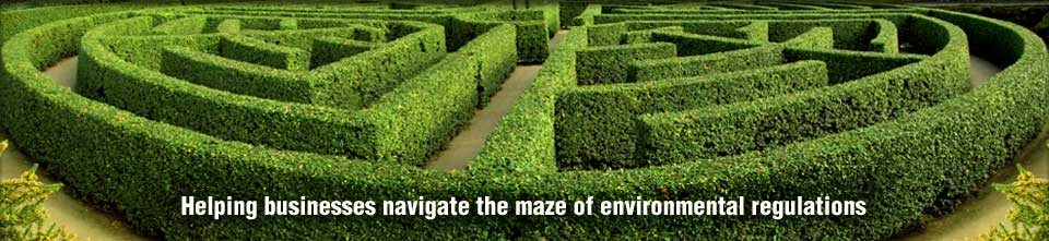Helping businesses navigate the maze of environmental regulations.